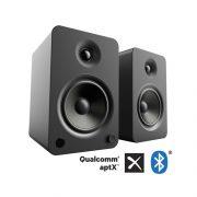 Kanto YU6 matt black speaker
