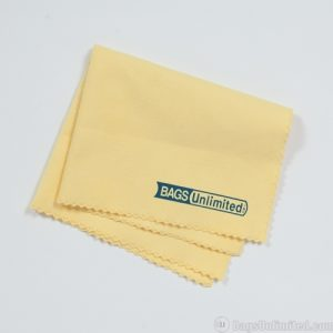Soft lubricates record cleaning cloth