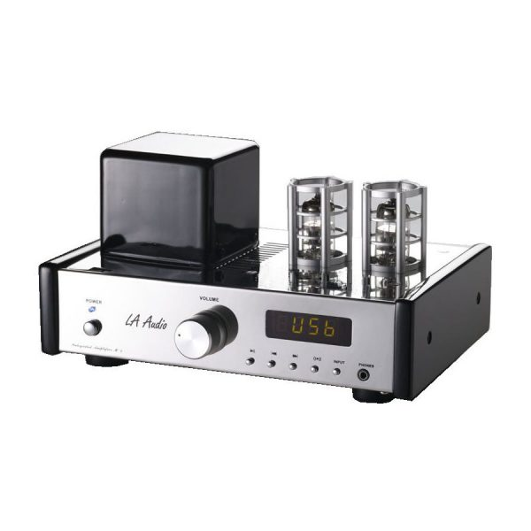 LA Audio - M-2UB Hybrid Tube Amplifier - web