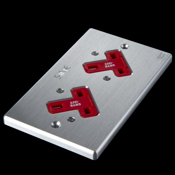 SINE - SW-2LP UK - Extra-Thick Platinum Plating Socket