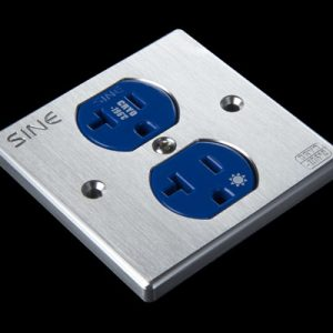 SINE - SW-2P Top Audio-Grade Duplex Platinum Socket (US)