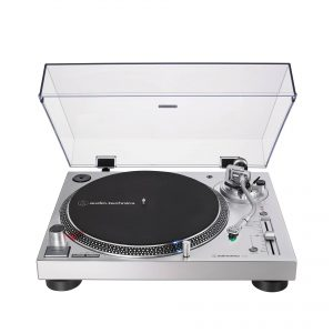 Audio Technica LP120XUSB Direct Drive Turntable Silver