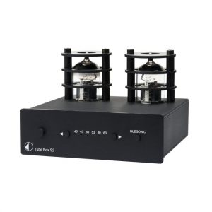 Pro-ject Tube Box S2 Phono Preamplfier Black