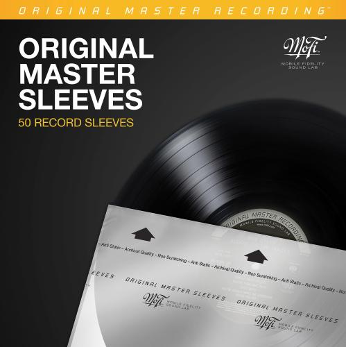 Mobile Fidelity (MoFi) Original Master Record Inner Sleeves (Pack of 50)